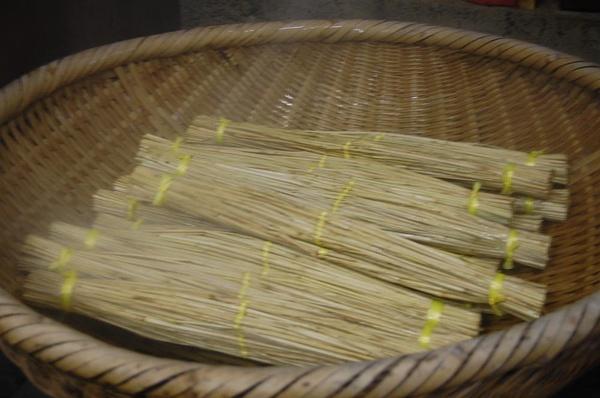 稻草编织小动物