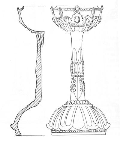 古代唇型手绘图