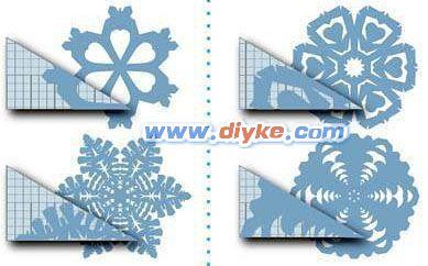 教你剪窗花,圣诞节雪花剪纸什么的