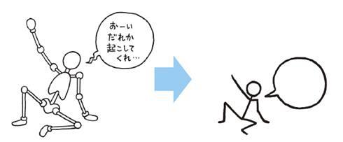 第4课 绘画文字入门——肢体动作篇 - 【画手帐】快速
