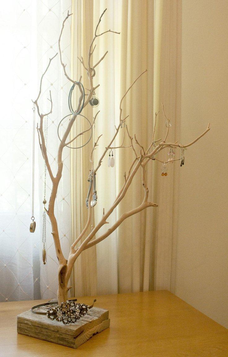 利用树枝制作森系装饰-diy手工王国小组-好知网
