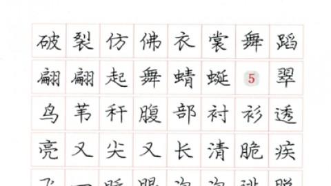 庞中华硬笔书法          图片