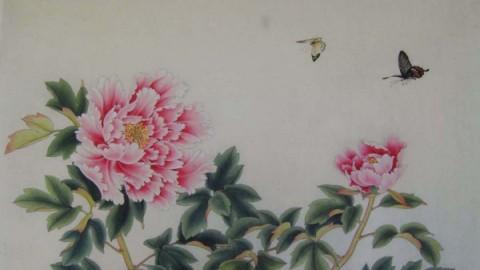 金鸿钧工笔画技法02工笔花鸟画的发展和风格流派 876415719