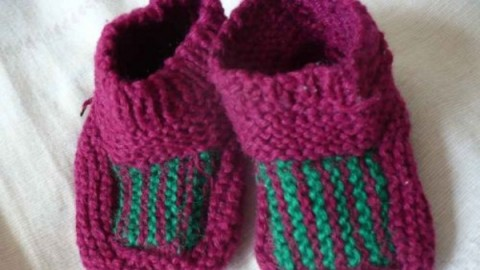 袜子(圣诞袜 )织法