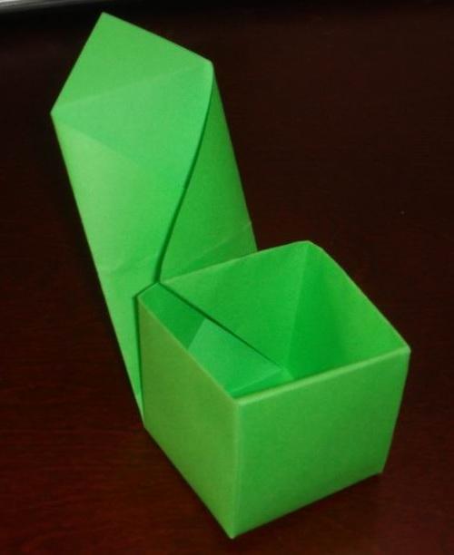 第4课 立方体小盒子 - 做个折纸达人,其实很简单.