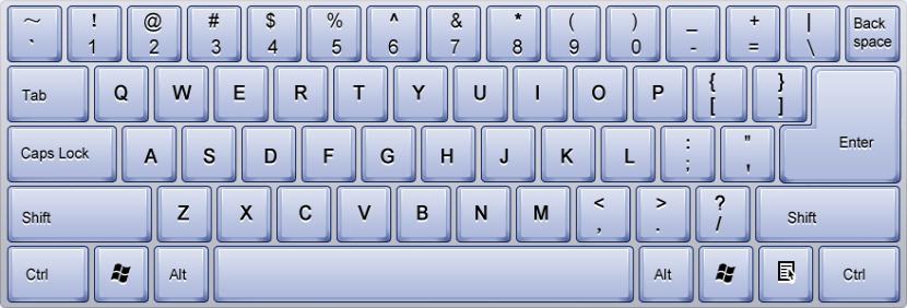 其他 金山打字教程(初级篇) 第1课  常见的键盘有101,104键等若干种.图片